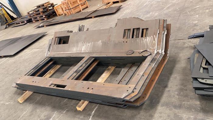 Acroni steel plates