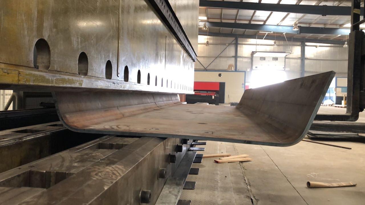 CNC press bending services